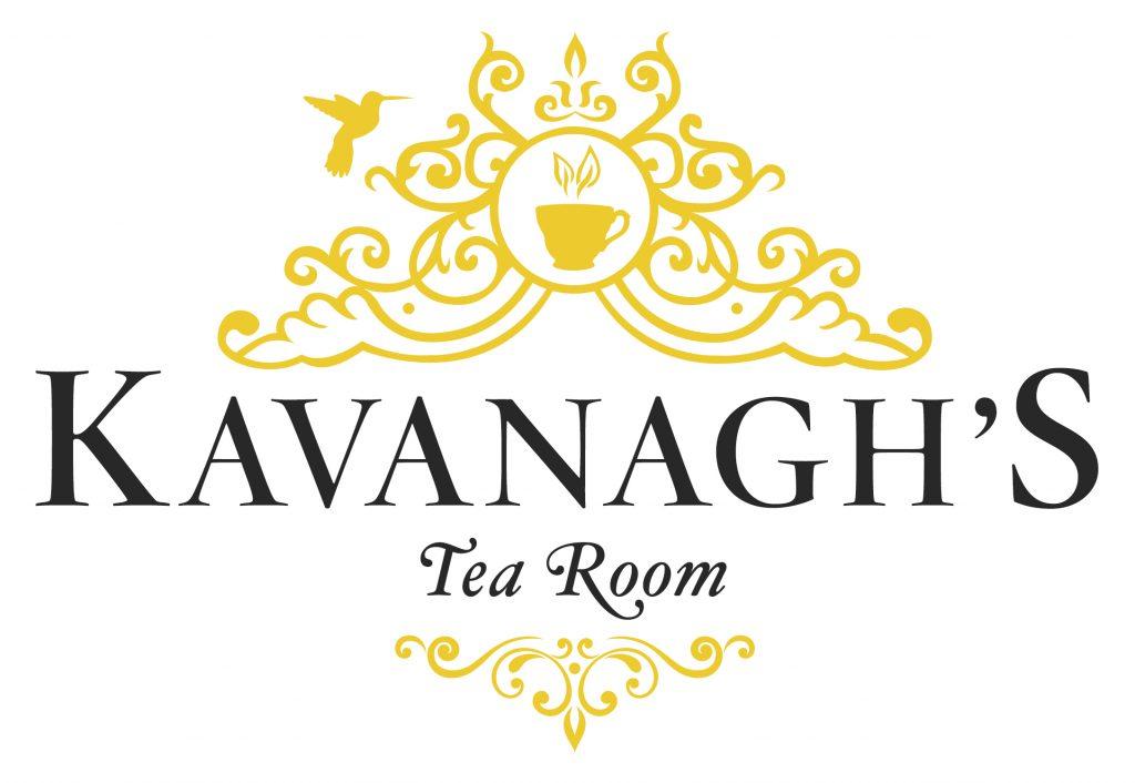 Kavanagh's Tea Room logo, black and gold