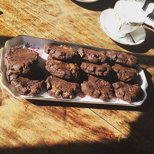 Kavanagh's Triple Chocolate Cookies